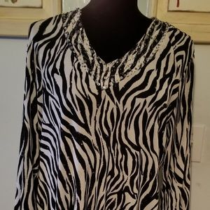 Chico's size 3 tunic top